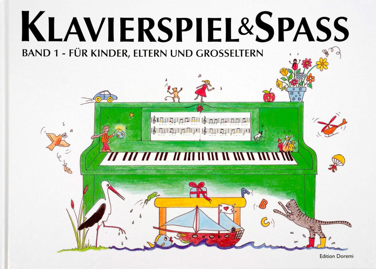 Klavierspiel & Spaß Band 1 – Für Kinder, Eltern und Großeltern