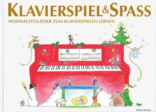 Weihnachtslieder zum Klavierspielen lernen