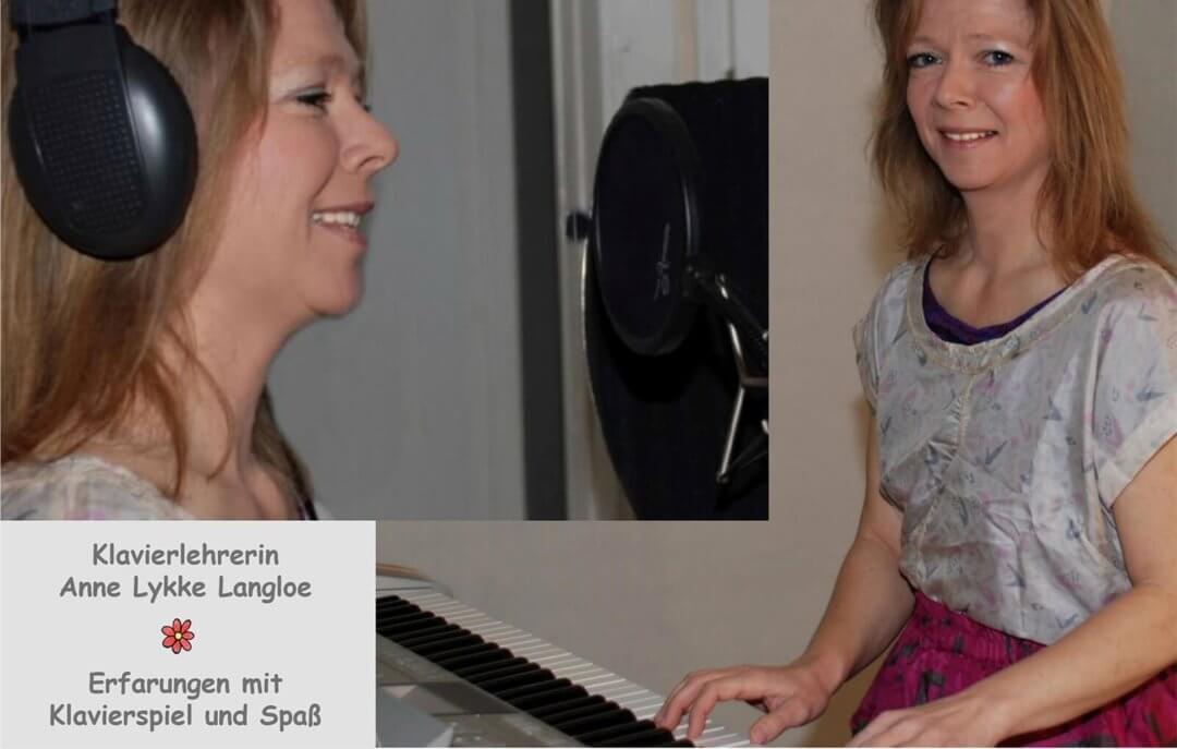 Klavierlehrerin Anne Lykke Langloe